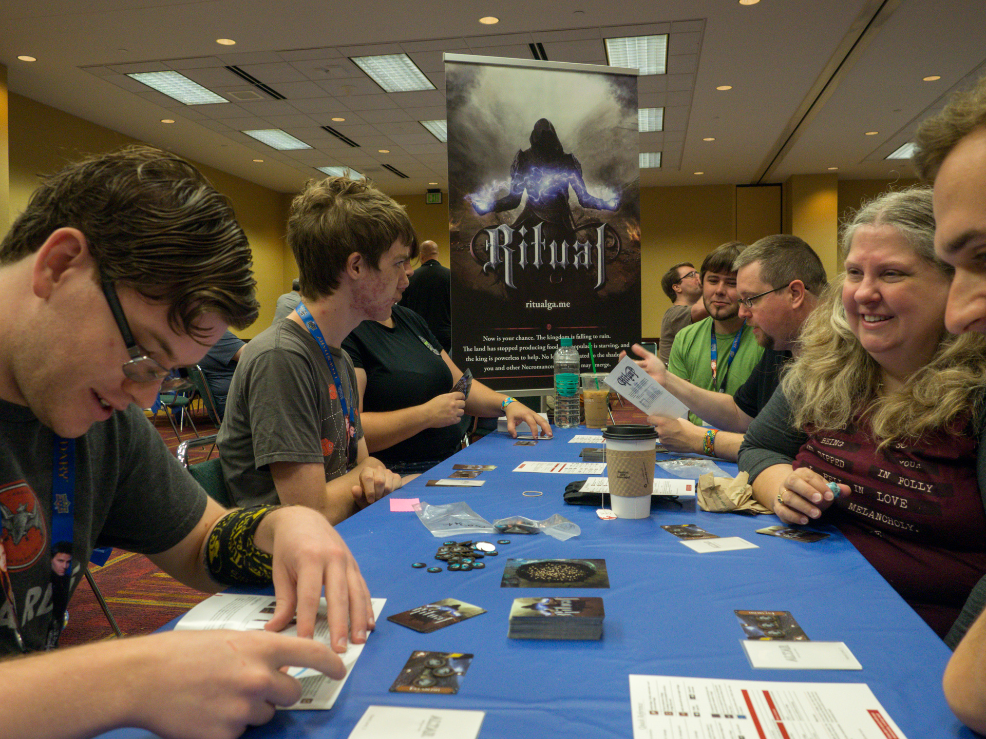 Playtesting at Gen Con 50 - First Exposure Playtest Hall